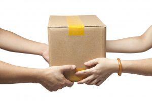 Paket zustellen